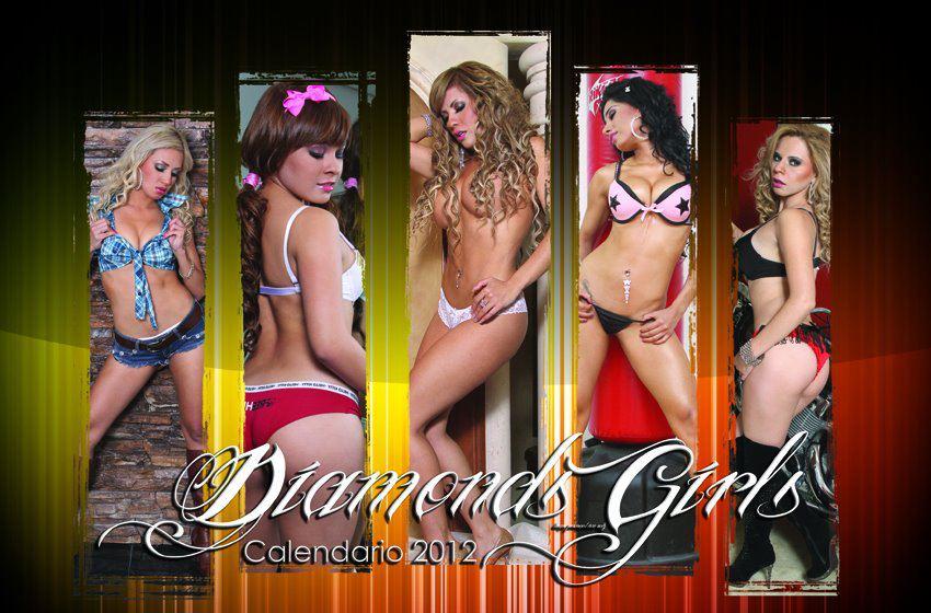 Las Diamonds Girls  Edecanes Del Programa Las Noches Del Futbol De
