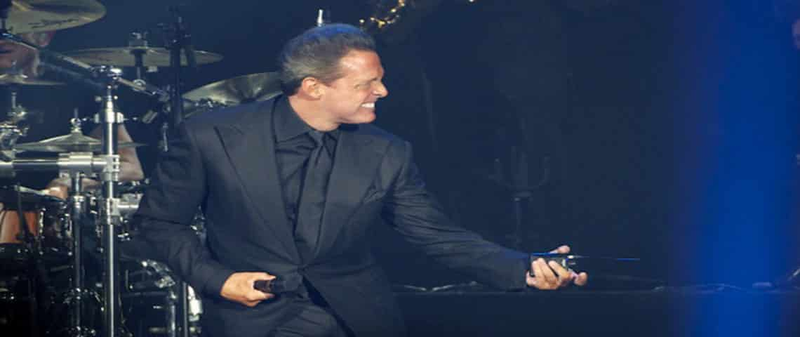 Luis Miguel Performs in Concert in Madrid