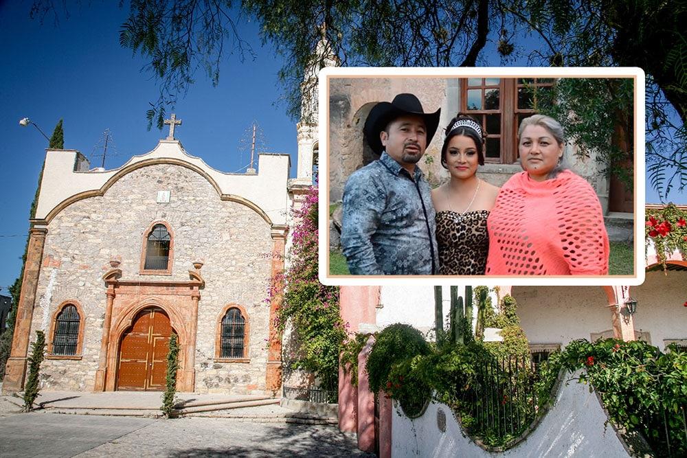 08 dic 2016 -- Los XV anos de Rubi, en la Hoya, San Luis Potosi. En la foto: La iglesia de la Hacienda de Solis donde se celebrara la funcion religiosa de los XV de Rubi